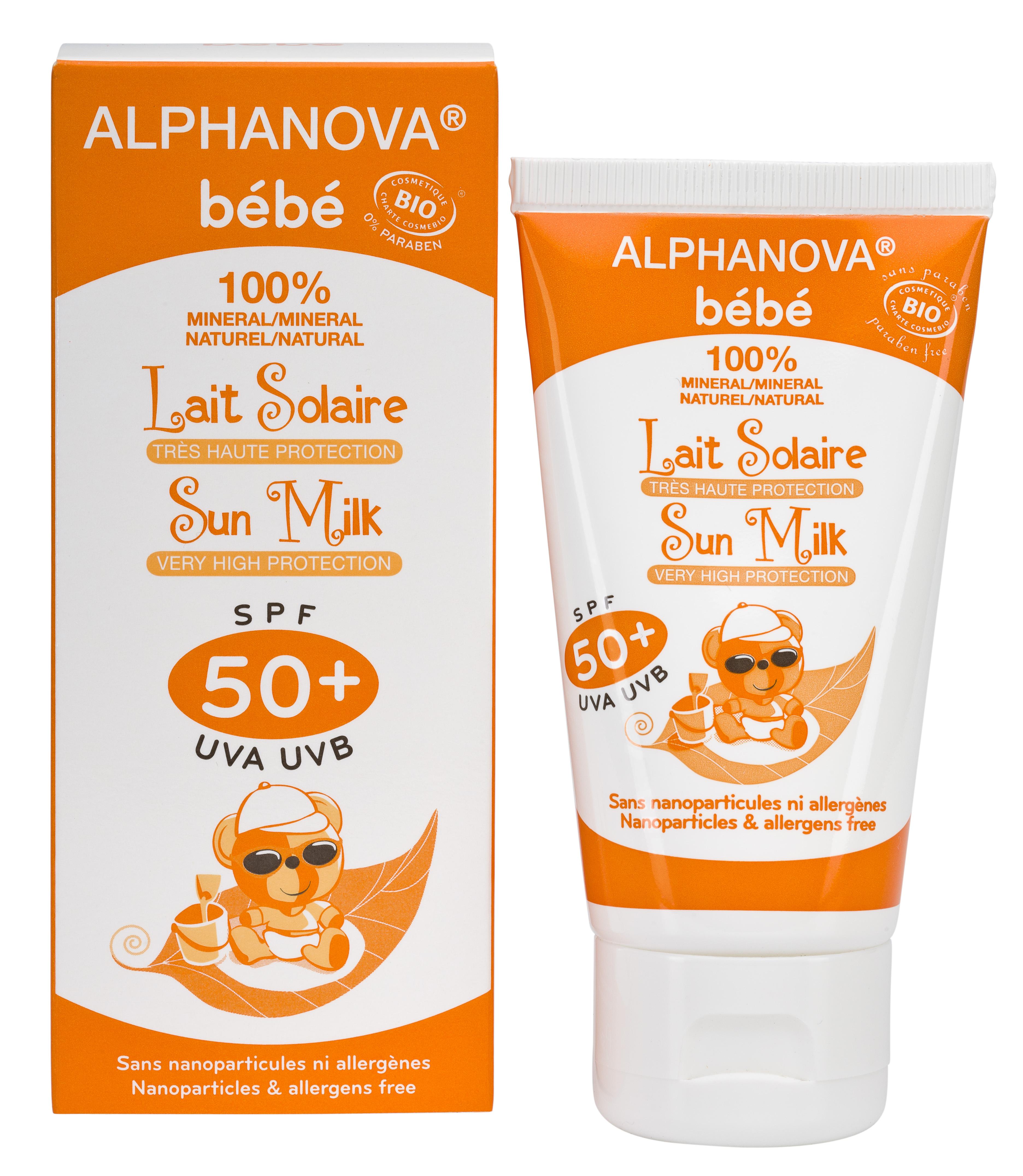 Alphanova økologisk solkrem for sensitiv hud!