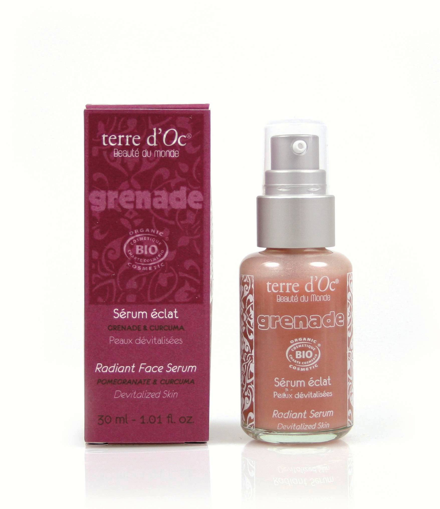 Terre d'Oc Pomegranate Radiant Face Serum