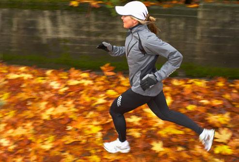 Jogging om høsten!