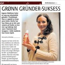 Intervju i Østfoldavisen