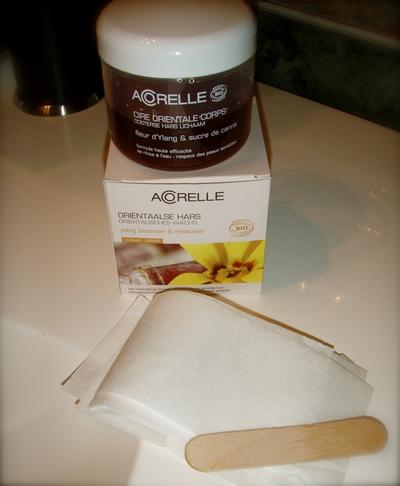 Acorelle Oriental Wax - bilde fra Susanne Mari sin blogg!