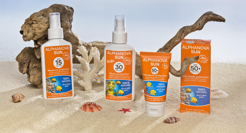 Alphanova Sun - Økologisk sertifisert solkrem!