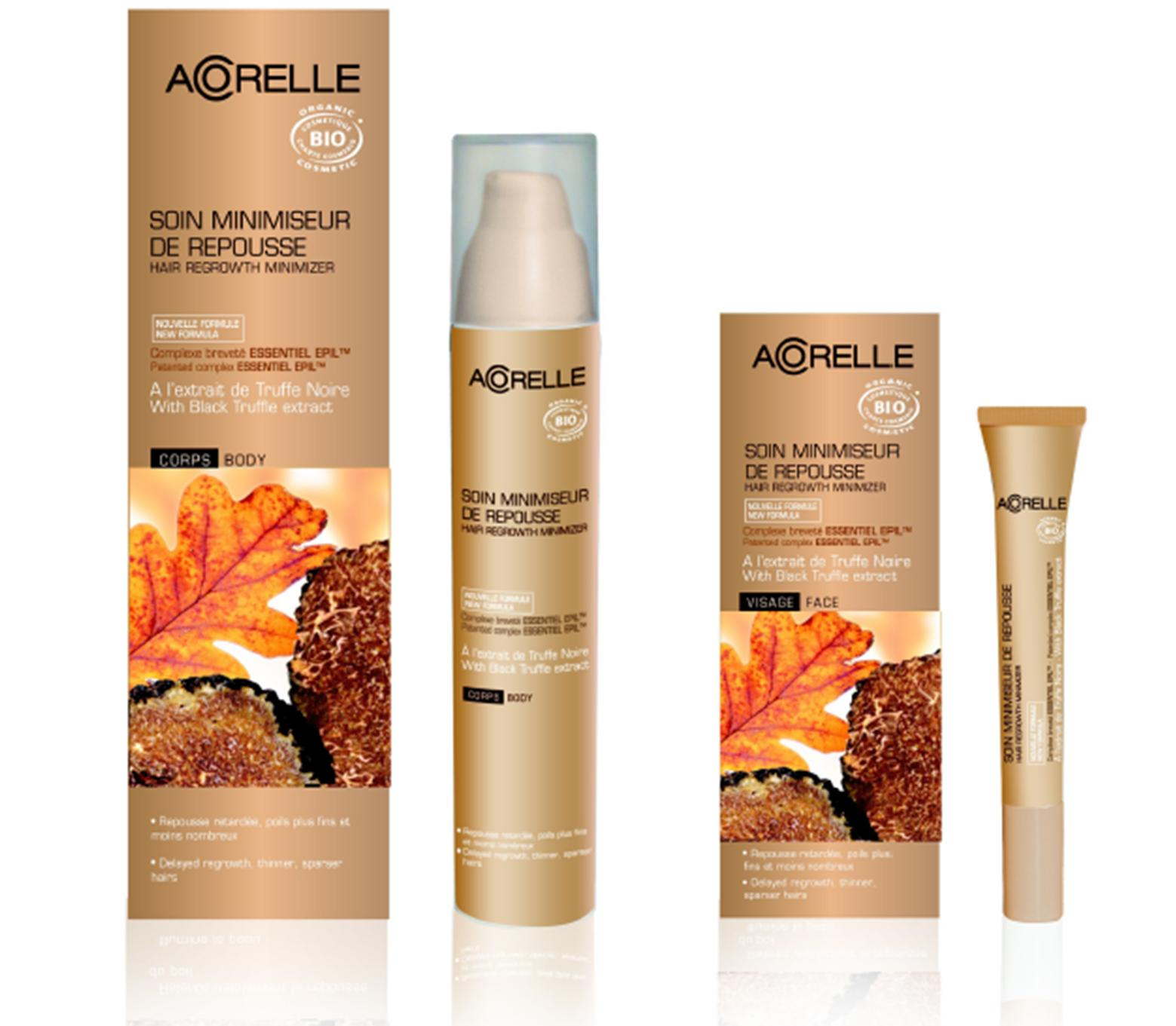 Acorelle Hari Regrowth Minimizer for kropp og ansikt