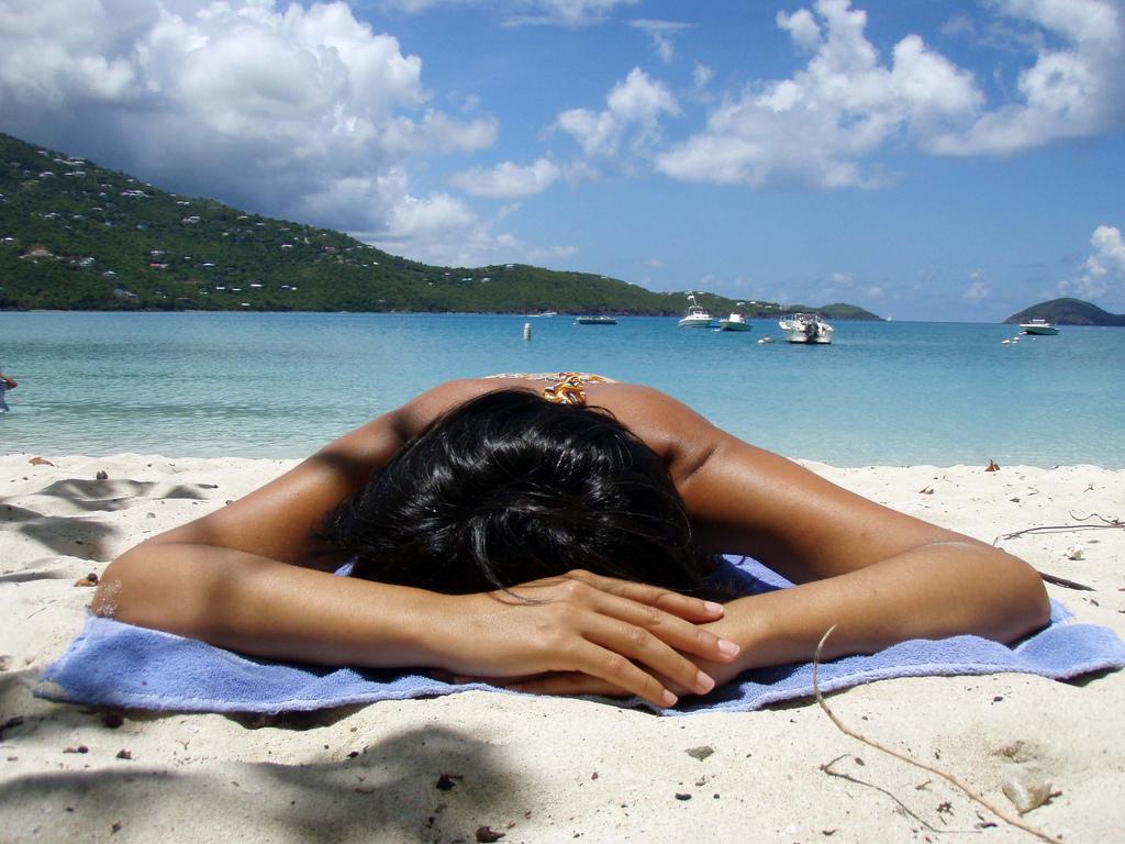 Eddik som behandling for solbrent hud