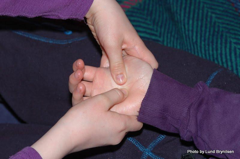 Håndmassasje