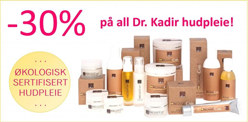 Dr. Kadir hudpleie til -30%