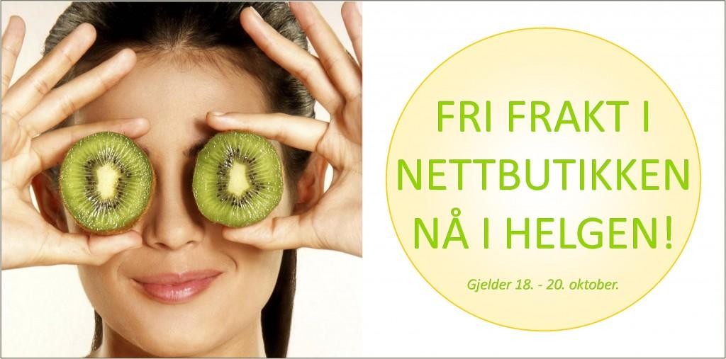 Fri frakt kun denne helgen - hos Green Spirit!