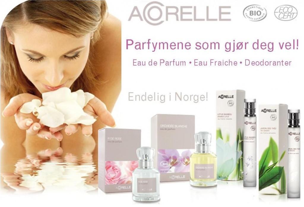 Acorelle er parfymene som gjør deg vel!