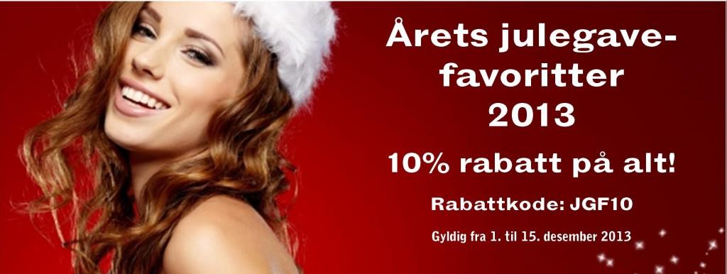 Årets Julegavefavoritter og rabattkode!
