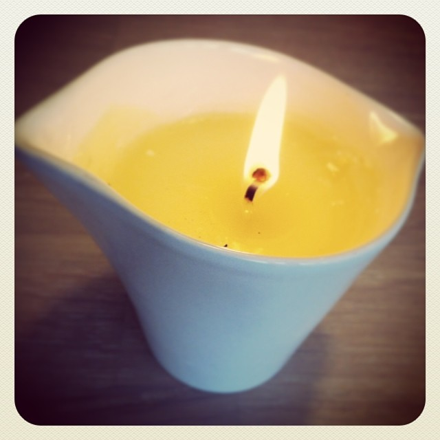 terre d'Oc Shea Body Massage Candle