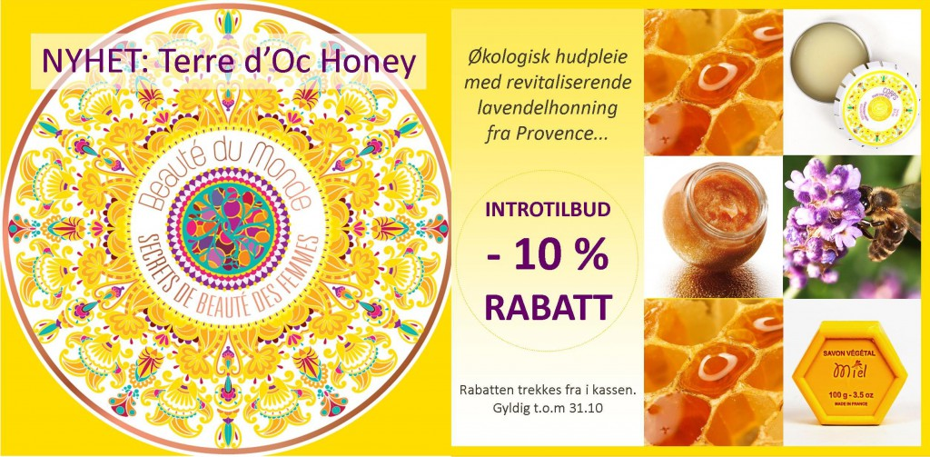 Lansering: Terre d'Oc Honey