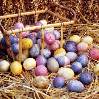 Grønn & Skjønn påskespesial: Dekorer eggene med naturlig farge