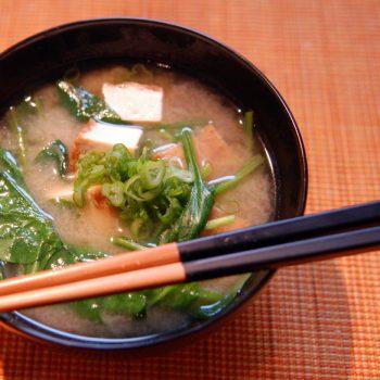 Tradisjonell japansk misosuppe